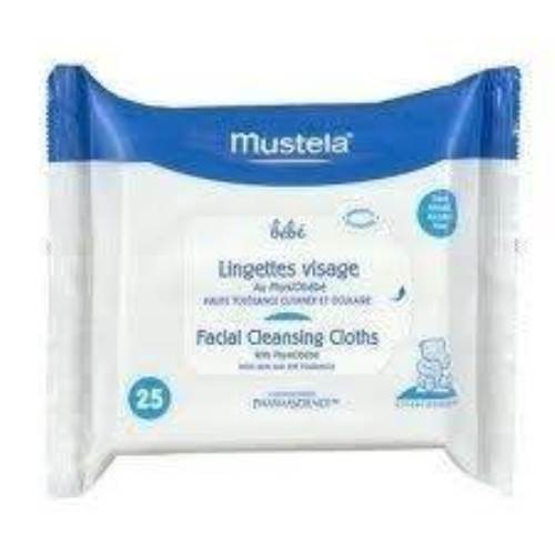 Mustela Facial Cleansing Cloths 25 Adet Mendil