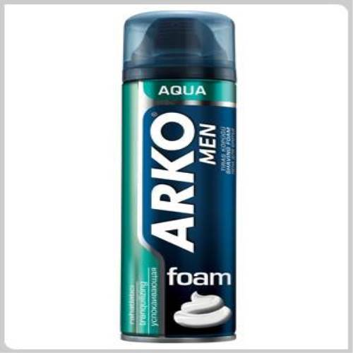 Arko Men Traş Köpüğü Aqua 200 ml