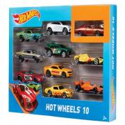 Mattel Hot Wheels 10 Lu Araba Seti 54886  (D*D*D*)