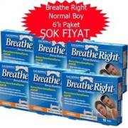 Breathe Right Burun Bandı Normal 6 Adet