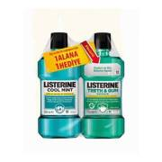 Listerine Cool Mint Gargara 250 ml-Listerine Teeth Gum 250 ml Hediyel