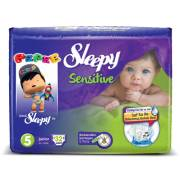 Sleepy Sensitive Junior Jumbo 24`lü Bebek Bezi 5 Numara