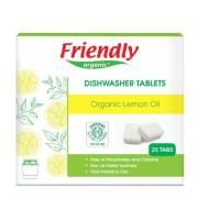 Friendly Organic Bulaşık Makinesi 25 Tablet Limon Deterjan