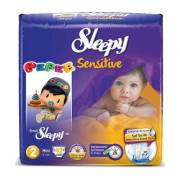 Sleepy Sensitive Mini Jumbo 42`li Bebek Bezi 2 Numara
