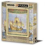 Clementoni Mayflower 500 Parça Hqcefetto Wood 95827